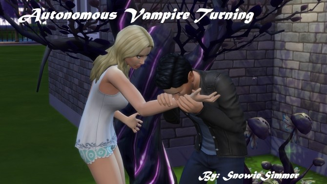 Autonomous Vampire Turning by SnowieSimmer at Mod The Sims image 531 670x377 Sims 4 Updates