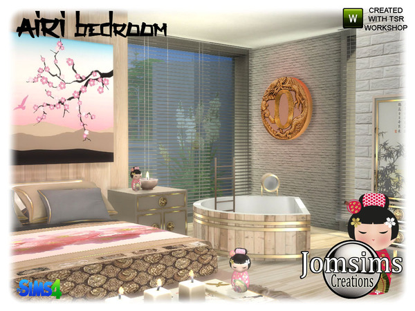 Airi bedroom by jomsims at TSR image 5316 Sims 4 Updates