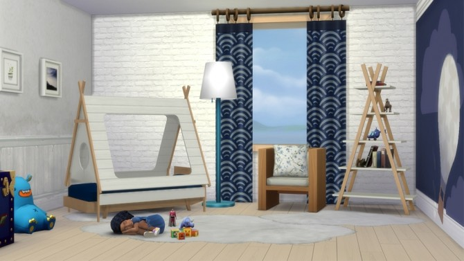 Pecan Bedroom for Toddlers at THINGSBYDEAN image 5511 670x377 Sims 4 Updates