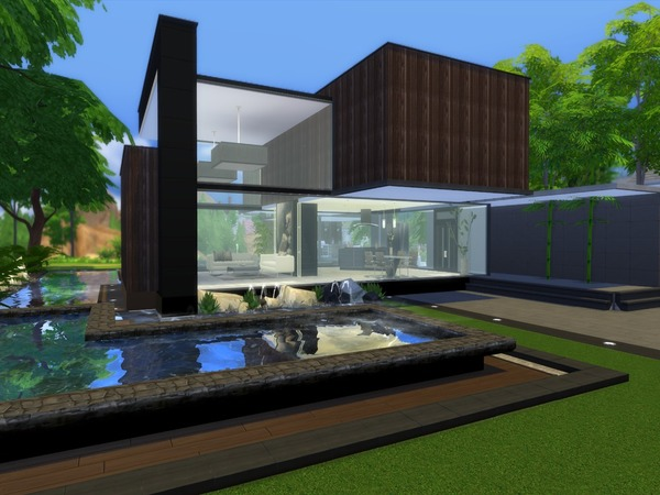 Noravo house by Suzz86 at TSR image 555 Sims 4 Updates