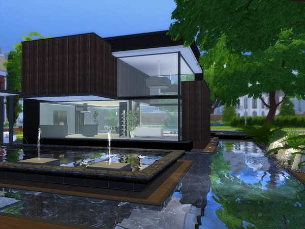 Noravo house by Suzz86 at TSR image 565 Sims 4 Updates