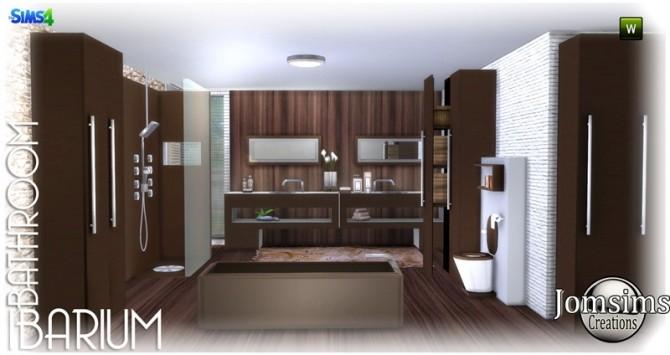 Ibarium bathroom at Jomsims Creations image 5712 670x355 Sims 4 Updates
