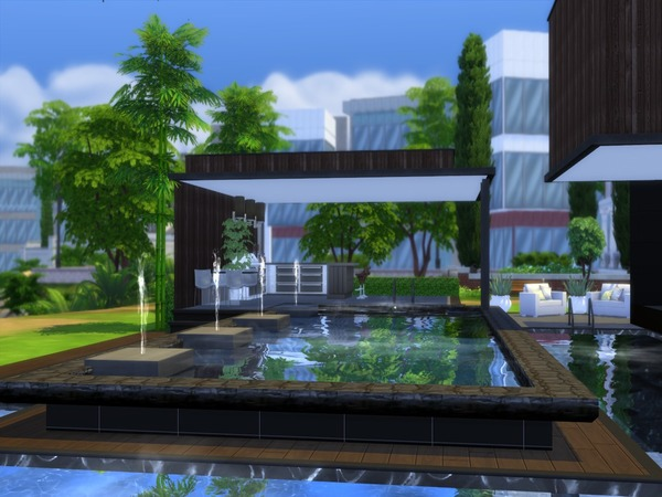 Noravo house by Suzz86 at TSR image 575 Sims 4 Updates