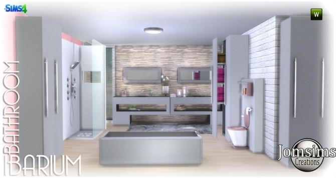 Ibarium bathroom at Jomsims Creations image 5812 670x355 Sims 4 Updates