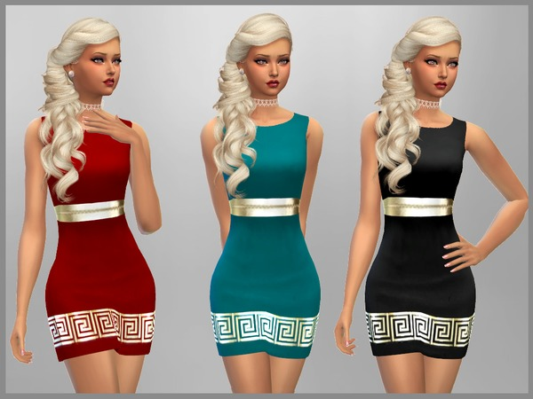 Stacey Dress by SweetDreamsZzzzz at TSR image 583 Sims 4 Updates