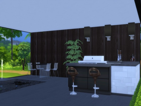 Noravo house by Suzz86 at TSR image 585 Sims 4 Updates