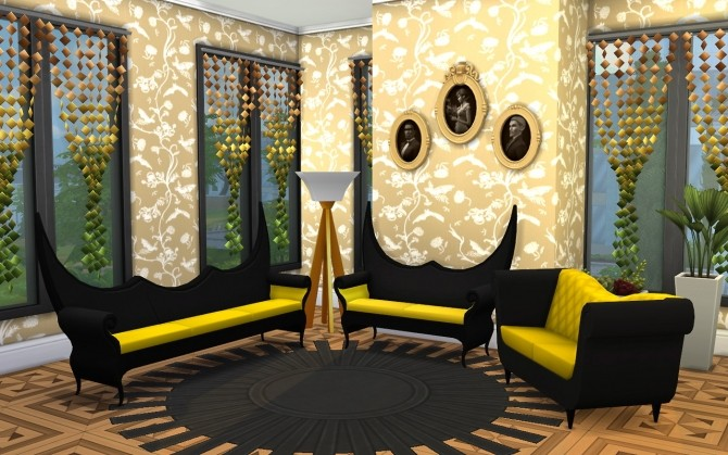 3 Sofa, Chair, Dining table conversions at Louisa image 5911 670x419 Sims 4 Updates