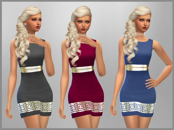 Stacey Dress by SweetDreamsZzzzz at TSR image 593 Sims 4 Updates