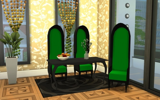 3 Sofa, Chair, Dining table conversions at Louisa image 6010 670x419 Sims 4 Updates