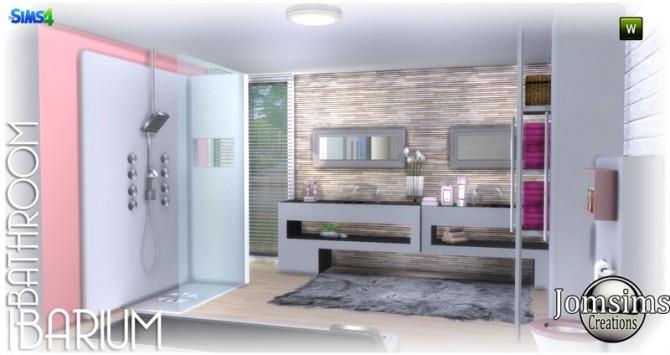 Ibarium bathroom at Jomsims Creations image 6011 670x355 Sims 4 Updates