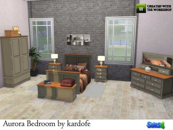 Aurora Bedroom By Kardofe At Tsr Sims 4 Updates
