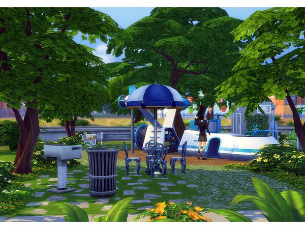 Sims 4 Farthington Park by Degera at TSR