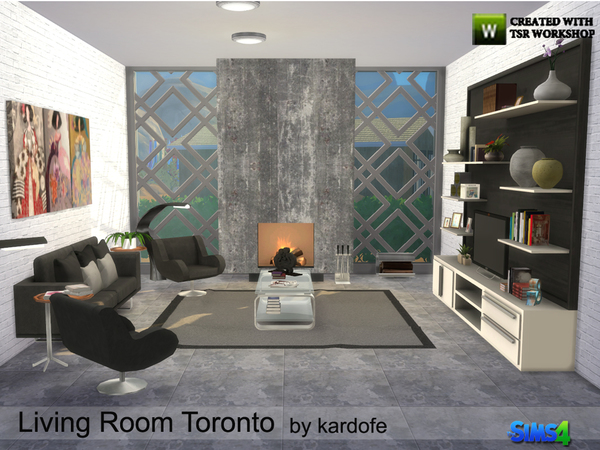 the living room toronto toronto livingroom by kardofe at tsr 187 sims 4 updates 17388