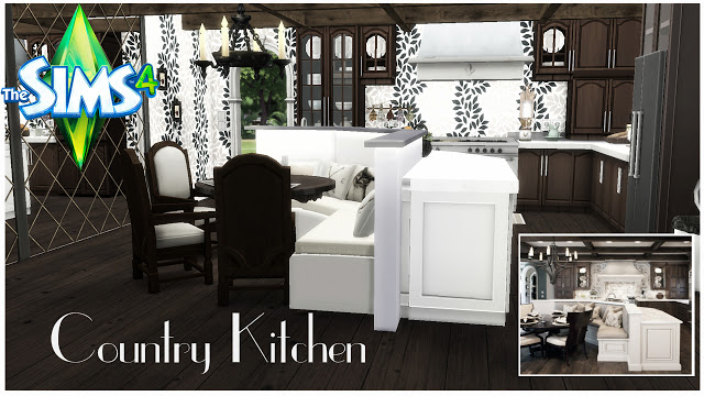 Country Kitchen at Pandasht Productions image 634 Sims 4 Updates