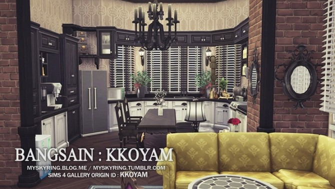 Apartment R004 by Bangsain at My Sims House image 6510 670x379 Sims 4 Updates