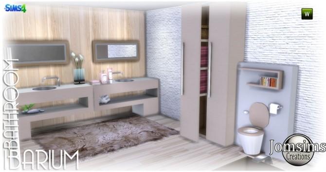 Ibarium bathroom at Jomsims Creations image 6512 670x355 Sims 4 Updates