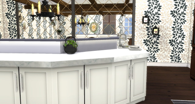 Sims 4 Country Kitchen at Pandasht Productions