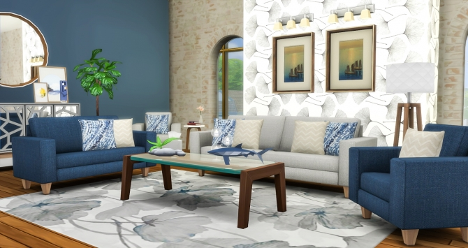 Feel That Fabric Sofa Set Redux At Simsational Designs