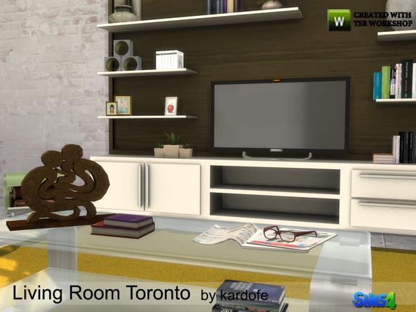 Toronto Livingroom By Kardofe At Tsr Sims 4 Updates