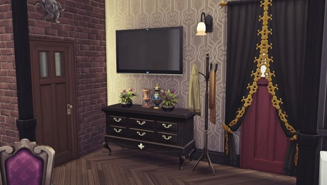 Apartment R004 by Bangsain at My Sims House image 6710 670x379 Sims 4 Updates