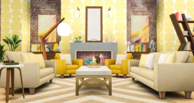 Sims 4 Feel That Fabric Sofa Set Redux at Simsational Designs