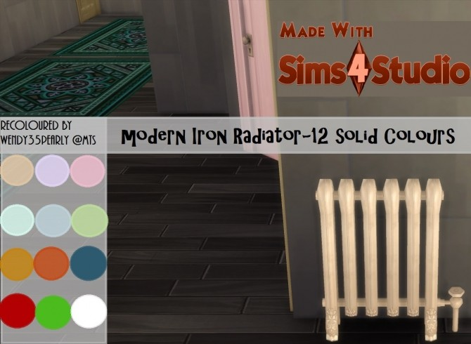 Modern Iron Radiator by wendy35pearly at Mod The Sims image 679 670x490 Sims 4 Updates