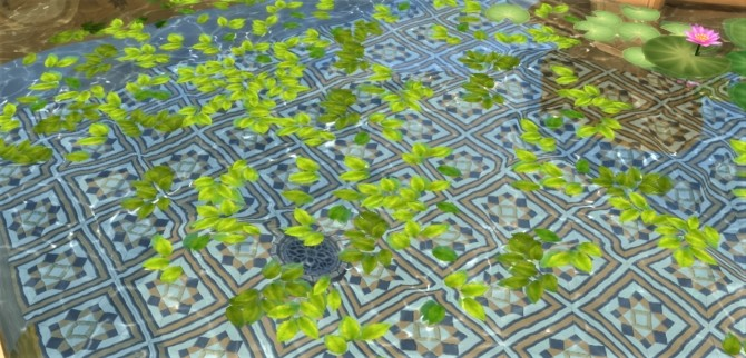 Sims 4 Pond leaves at Budgie2budgie