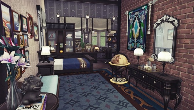 Apartment R004 by Bangsain at My Sims House image 689 670x379 Sims 4 Updates