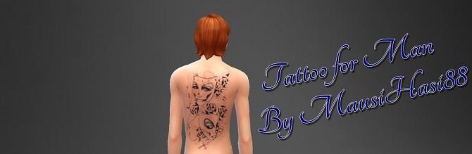 Tattoo for Man at MausiHasi88 image 6912 670x219 Sims 4 Updates