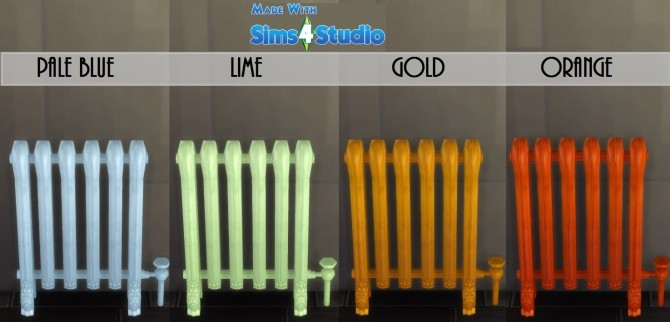 Modern Iron Radiator by wendy35pearly at Mod The Sims image 698 670x322 Sims 4 Updates