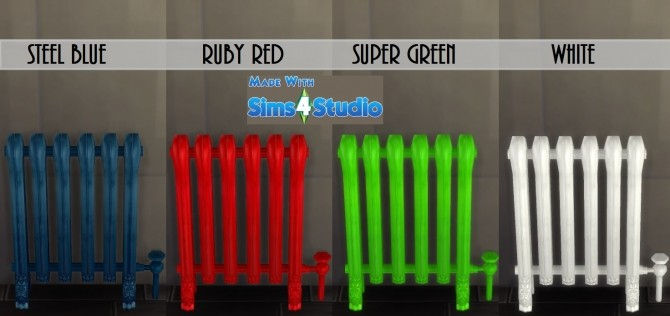 Modern Iron Radiator by wendy35pearly at Mod The Sims image 708 670x316 Sims 4 Updates