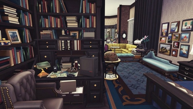 Apartment R004 by Bangsain at My Sims House image 7114 670x379 Sims 4 Updates