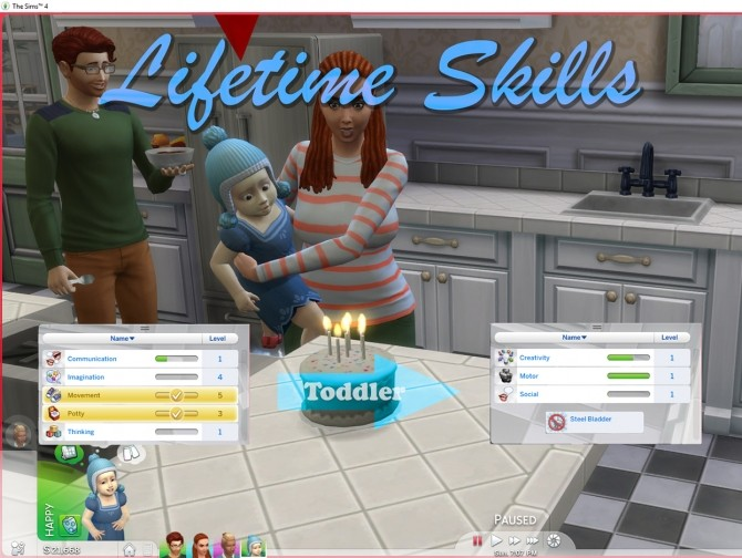Toddler and Child Skills that carry over by TwistedMexi at Mod The Sims image 72 670x504 Sims 4 Updates