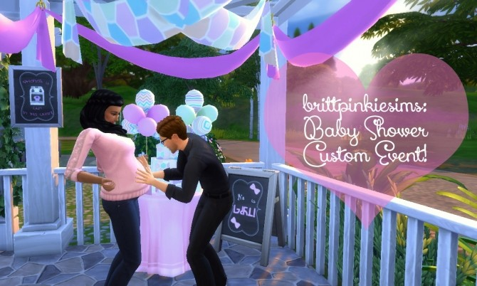 Baby Shower Mod V 2.0 at Brittpinkiesims image 7610 670x402 Sims 4 Updates