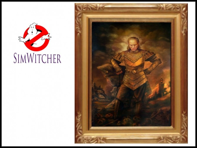 Ghostbusters Painting Vigo the Carpathian by Witchbadger at Mod The Sims image 7613 670x503 Sims 4 Updates