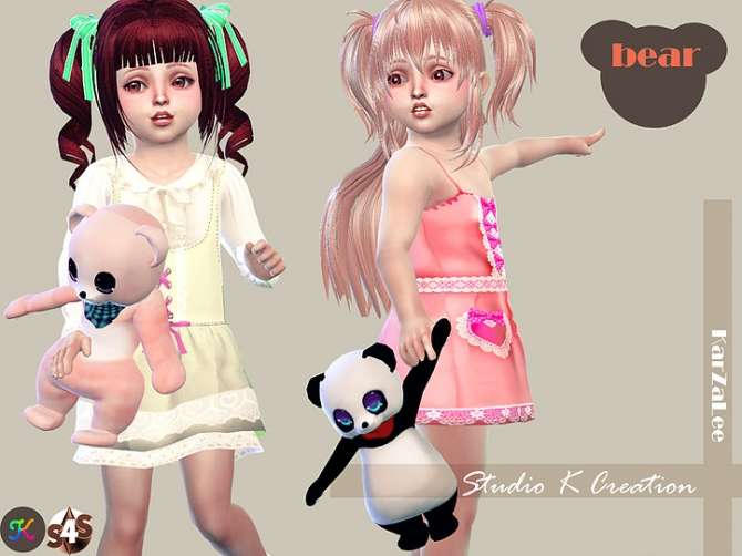 Teddy Bear Toy For Toddler At Studio K Creation 187 Sims 4