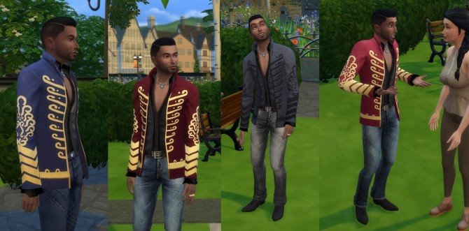 Jimi Hendrix Jacket Tuned Down by Velouriah at Mod The Sims image 7913 670x331 Sims 4 Updates