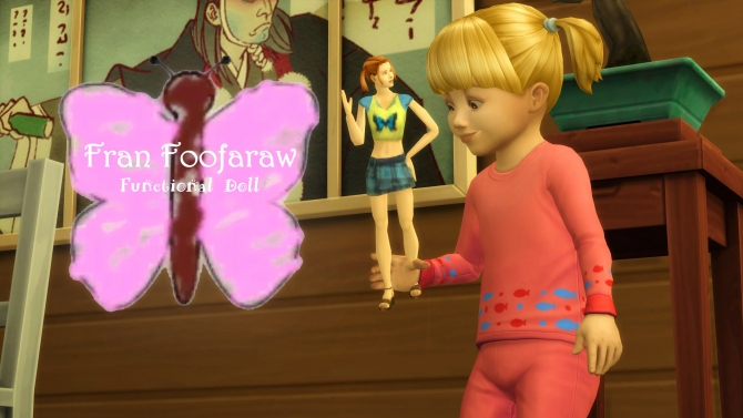 The Sims Bustin Out Fran Foofaraw Doll By Littledica At