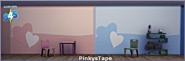 Sims 4 Pinky wallpaper by Christine1000 at Sims Marktplatz