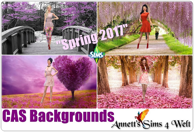 CAS Backgrounds Spring 2017 at Annett's Sims 4 Welt image 8010 Sims 4 Updates
