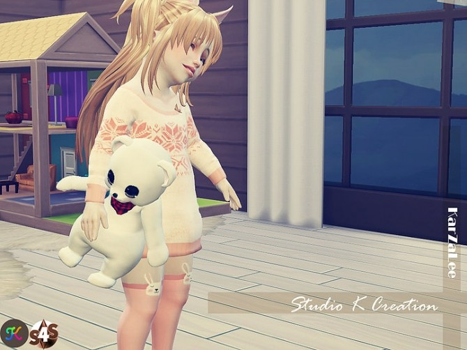 Teddy bear toy for toddler at Studio K Creation image 8110 670x502 Sims 4 Updates