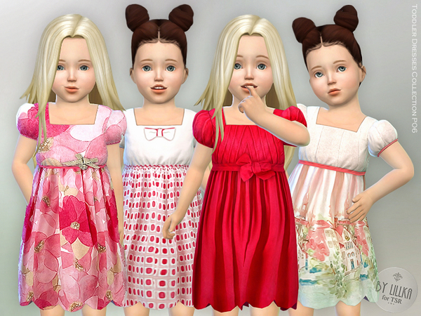 Sims 4 Toddler Dresses Collection P06 by lillka at TSR