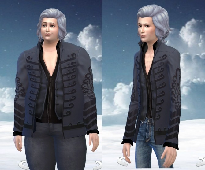 Jimi Hendrix Jacket Tuned Down by Velouriah at Mod The Sims image 8215 670x556 Sims 4 Updates