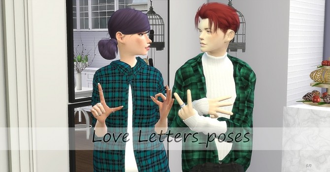 Love Letters Poses at Simsnema image 8311 670x350 Sims 4 Updates
