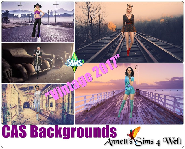 CAS Backgrounds Vintage 2017 at Annett's Sims 4 Welt image 8410 Sims 4 Updates