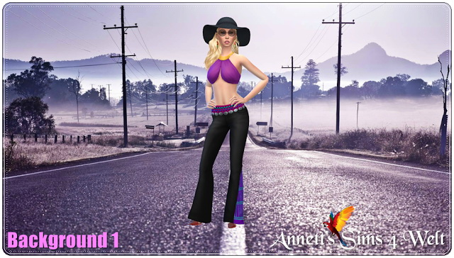 Sims 4 CAS Backgrounds Vintage 2017 at Annett's Sims 4 Welt