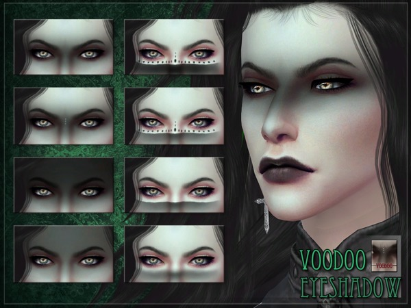 Sims 4 Voodoo Eyeshadow by RemusSirion at TSR
