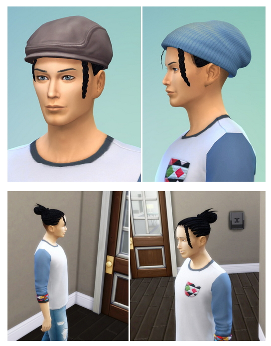 Shaved Braids Pony at Birksches Sims Blog image 886 Sims 4 Updates
