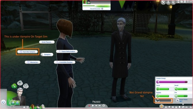 Sims 4 Vampire XP Gain Mods by Chaavik at Mod The Sims
