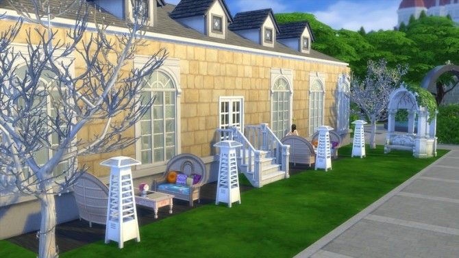 Sims 4 Restaurant for Dine Out by Bunny m at Mod The Sims